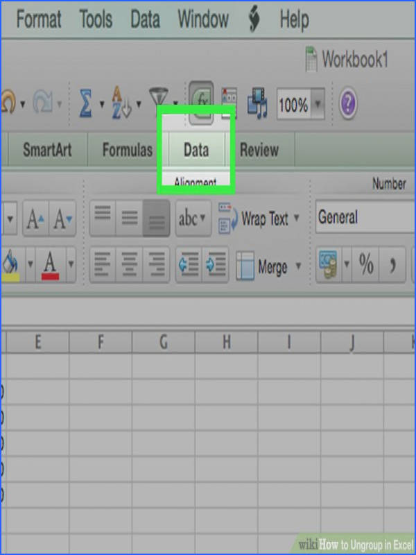 Image titled Ungroup in Excel Step 11