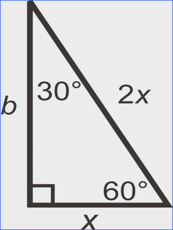 Use the Pythagorean Theorem to find the longer leg What is it How is this similar to your answer in 4 30 60 90