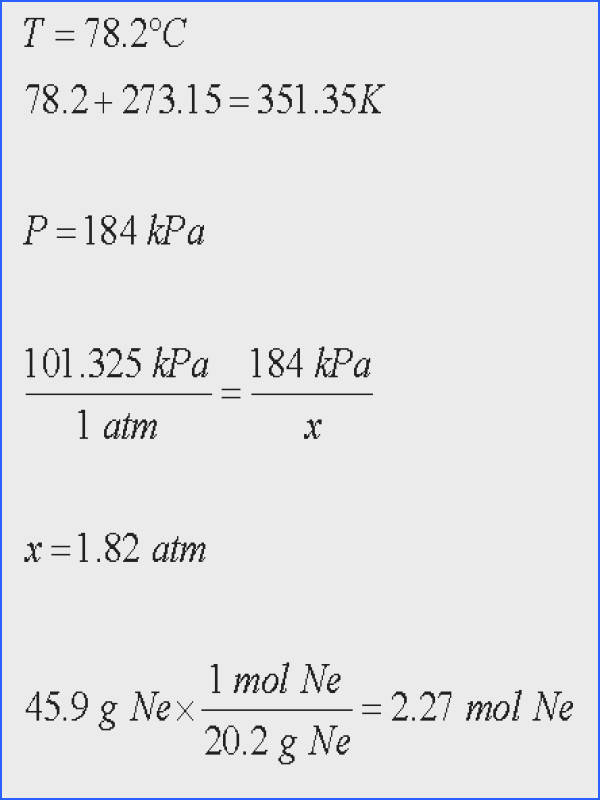 Ideal Gas Law Worksheet Fresh Ideal Gas Law Worksheet New Gases Boyle S Law Charles Law