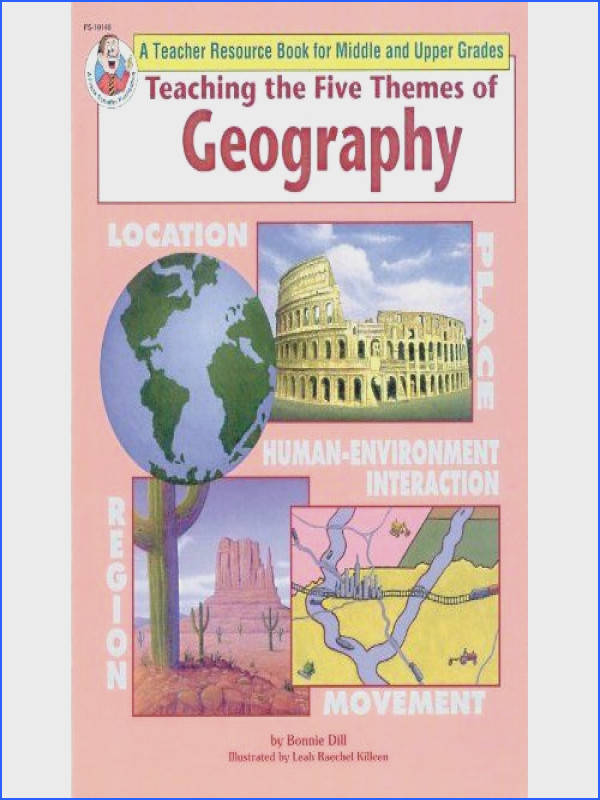 activities for 5 themes of geography