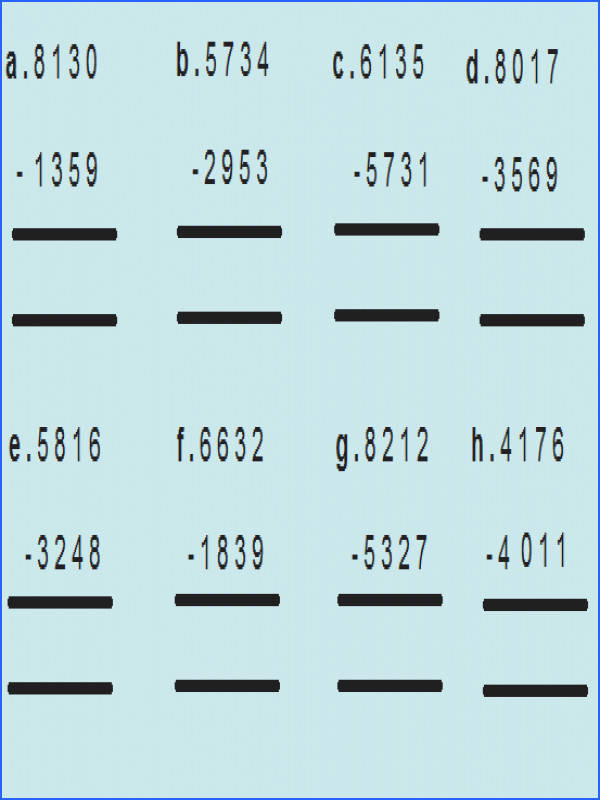 4Th Grade Math Sheets To Print Worksheets for all Download and Worksheets