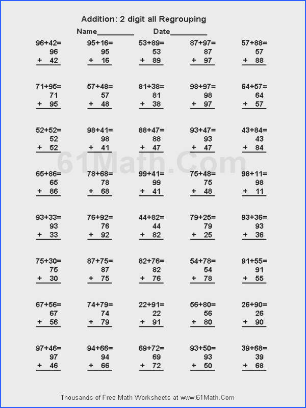 4Th Grade Math Test Printable Worksheets for all Download and Worksheets