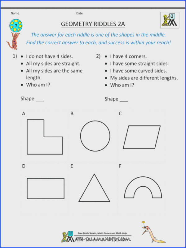 4th Grade mon Core Math Worksheets Pdf Unique Math Geometry Worksheets Download Kids Study New 5thade