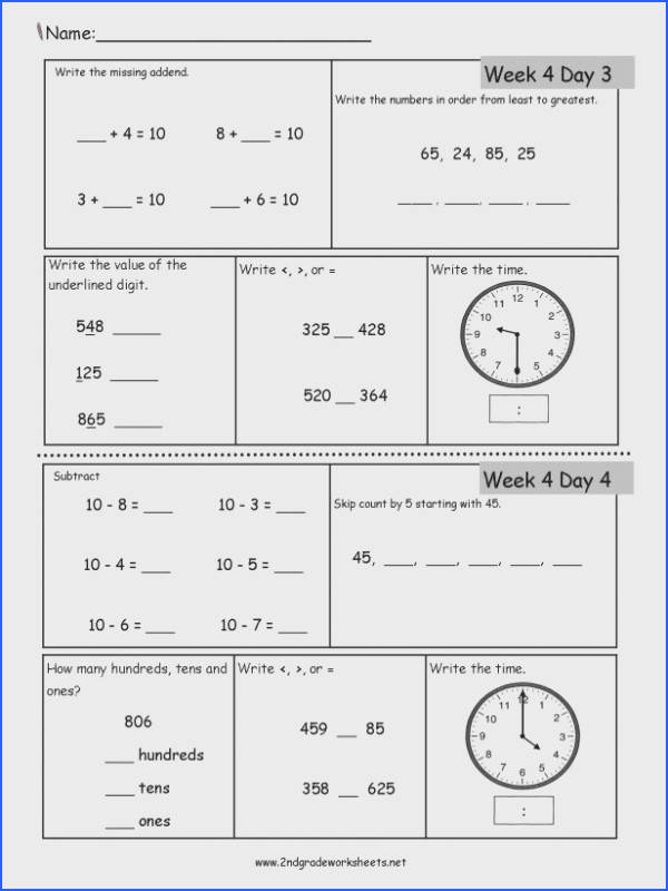 4th Grade mon Core Math Worksheets Pdf Inspirational Math Second Grade Language Arts Worksheets Abbreviation Image