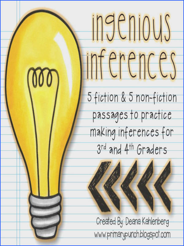 10 passages to practice making inferences with vocabulary activities too