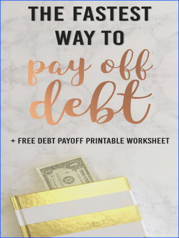 The Fastest Debt Payoff Method