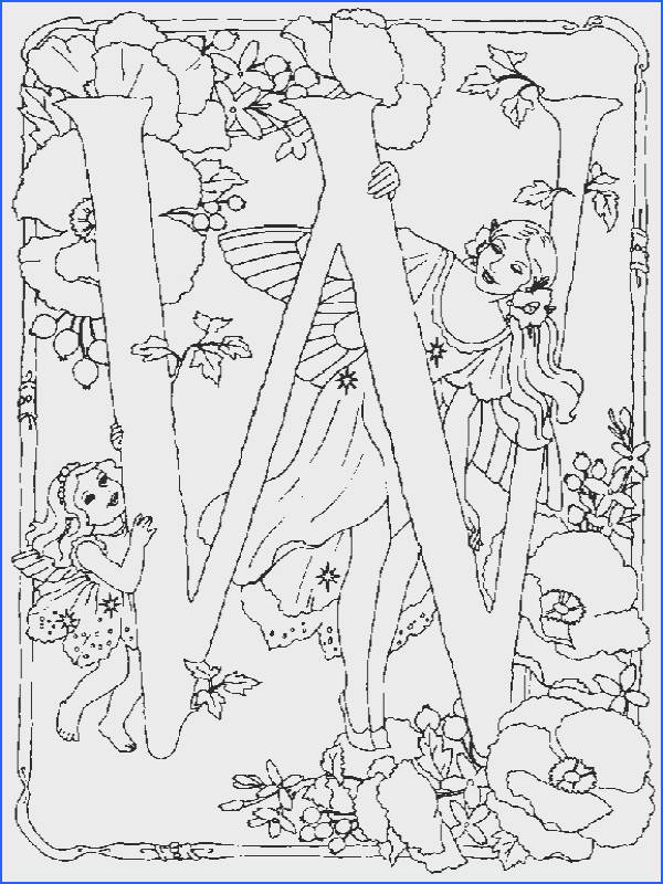 Alphabet Fairy W Coloring Pages In this page you can find free printable Alphabet Fairy W