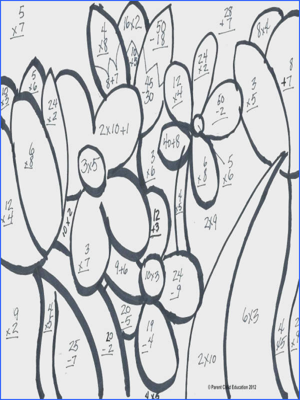 5Th Grade Coloring Math Worksheets Worksheets for all Download and Worksheets