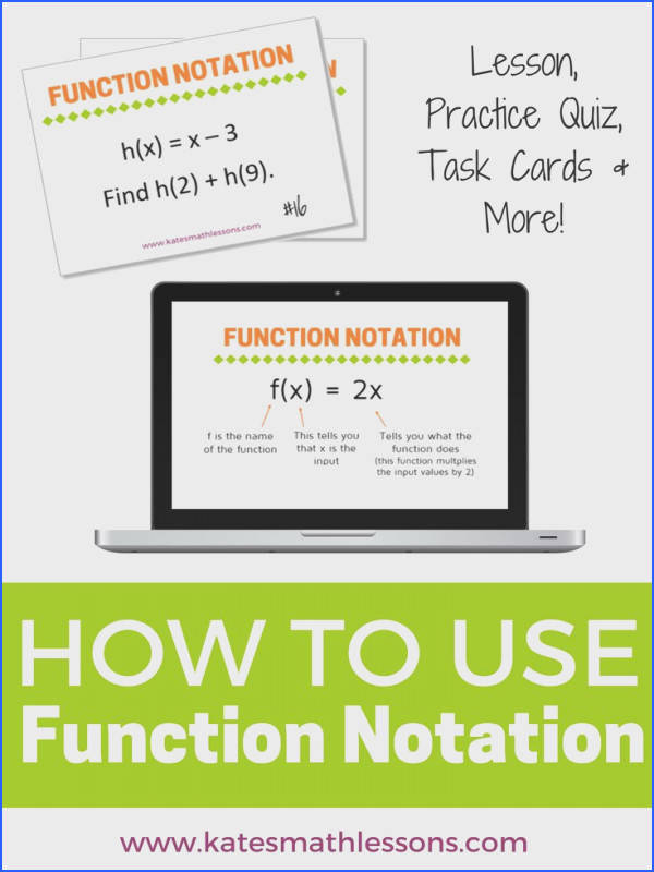 Need help with function notation This free algebra lesson explains the meaning of f