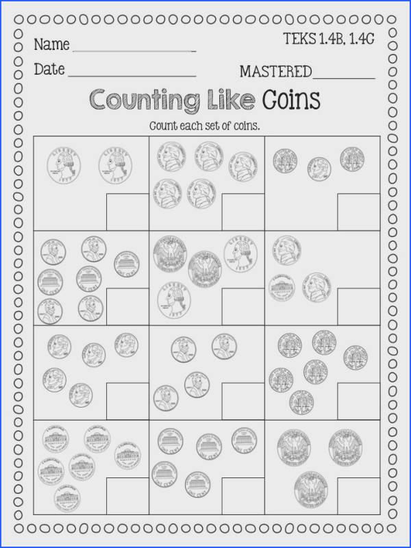 Find this Pin and more on Educational therapy Identifying coins