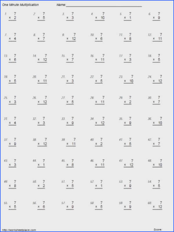 7 Times Tables Math 4th Grade Pinterest Image Below Times Table Worksheets