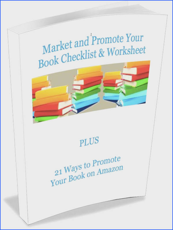 Writers Would you like my How to Market and Promote Your Book Checklist & Worksheet