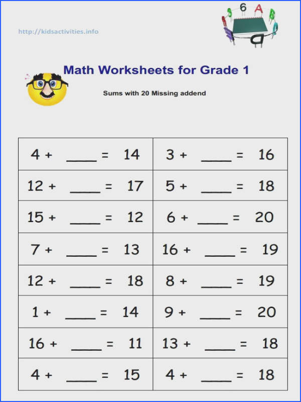 missing subtraction 1st grade Google Search