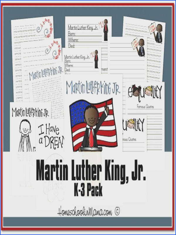 Martin Luther King Day Free Tater Tot and K 3 Packs