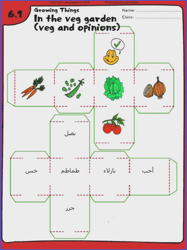 Arabic worksheets learn ve ables in Arabic More printables for language teachers on languagenut