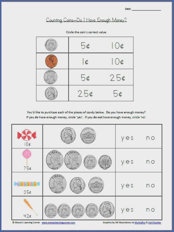 Counting Coins – Do I Have Enough Money