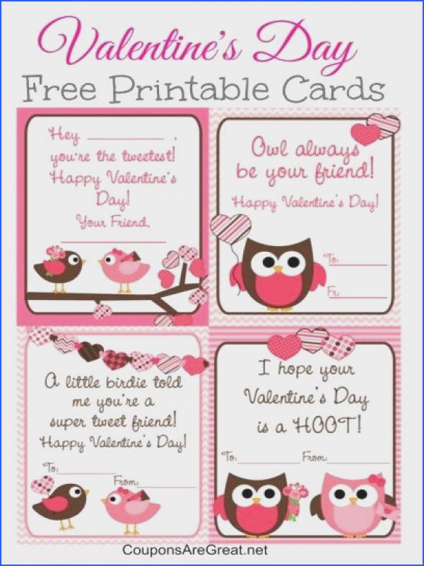 Free printable valentine s day cards Pinned by