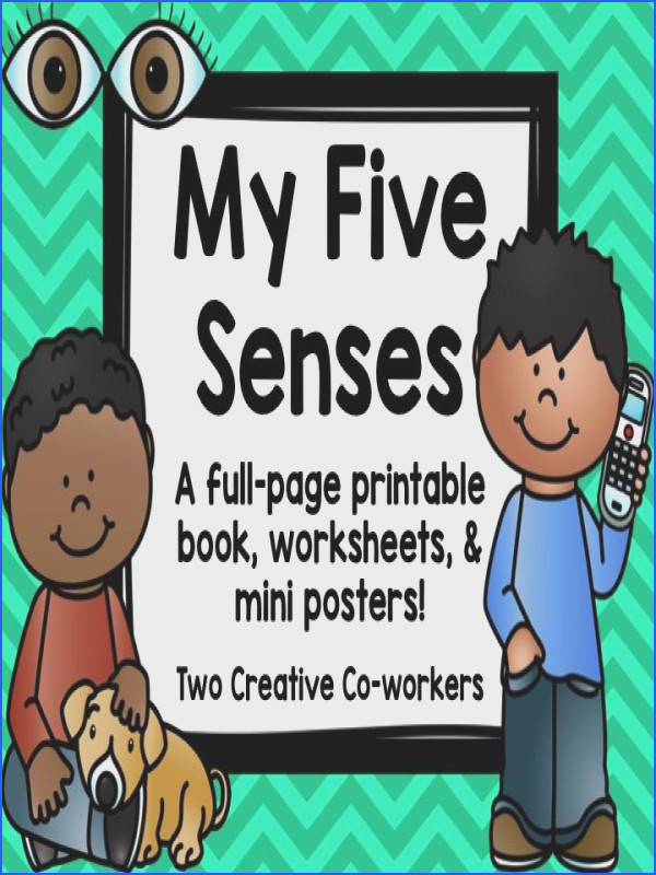 This file includes a variety of activities to help your students learn about the five senses The full size x book includes a cover page and one sheet for