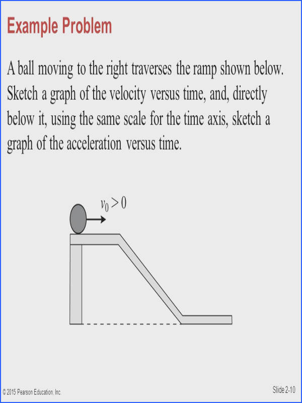 Acceleration Problems Worksheet Answer Key Fresh Section 2 4 Acceleration © 2015 Pearson Education Inc Ppt