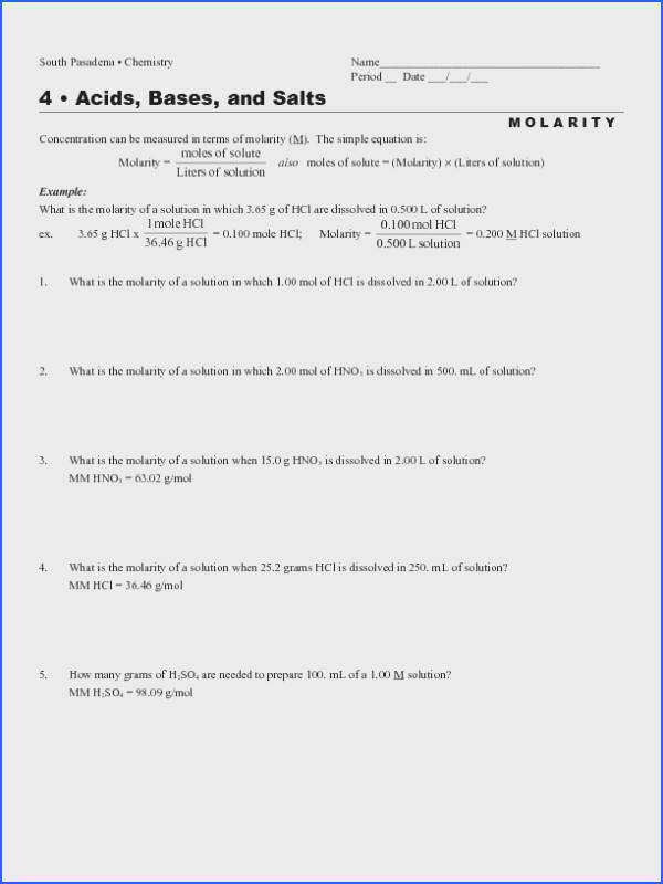 Acid Base Theories And Worksheet Worksheets for all Download and Worksheets