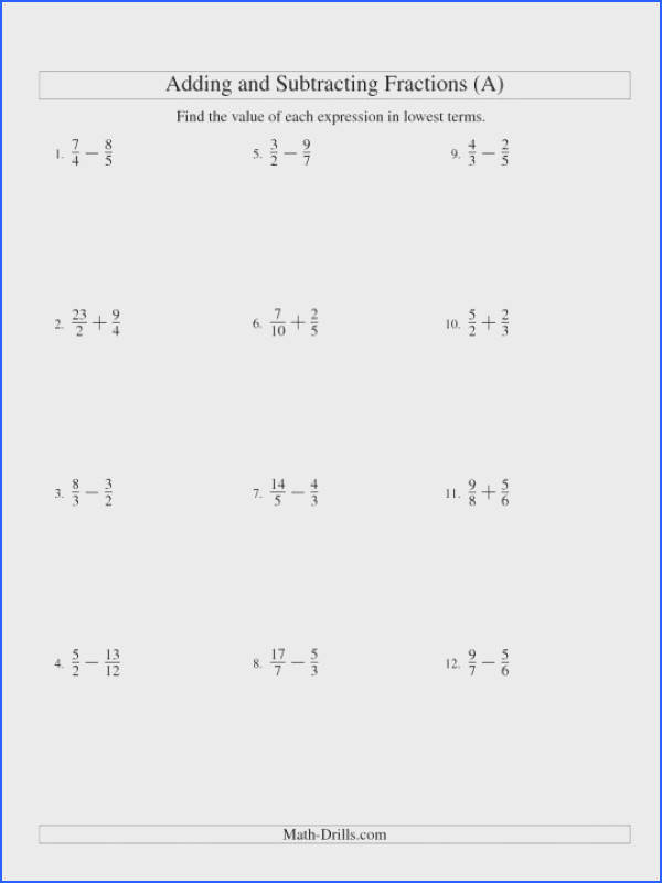 Adding And Subtracting Fractions Worksheets Pdf mon Core Multiplying Dividing Worksheet With 6th Grade Like 540