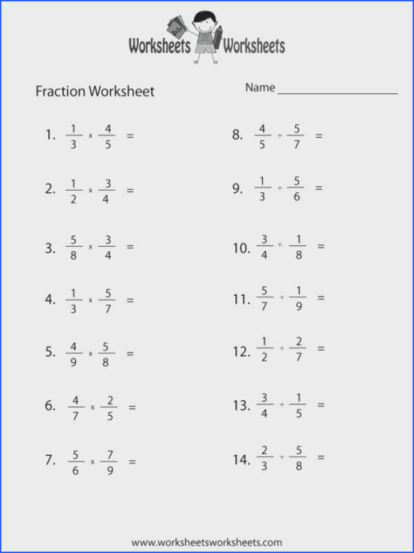 Fraction Review Worksheet Printable Math Worksheets Adding And Subtracting Fractions Level With Like Denominators Different Ks2