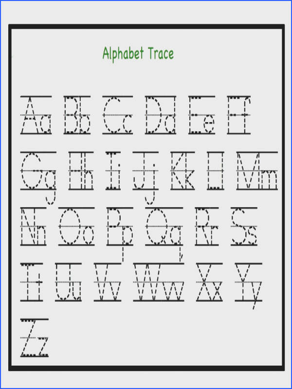 Transform Alphabet Tracing Worksheets For Kindergarten With Free Printable Letter Tracing Worksheets Pdf For Kindergarten