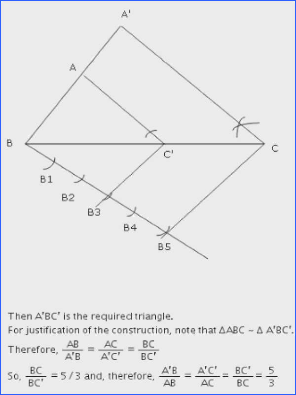 Andhra Pradesh SSC Class 10 Solutions For Maths Similar Triangles Ex 8 2