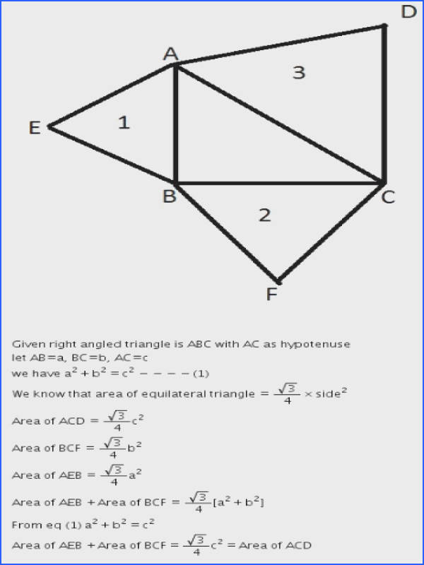 Andhra Pradesh SSC Class 10 Solutions For Maths Similar Triangles Ex 8 3