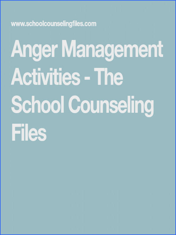 Worksheets craftivities books and games to address anger management with kids
