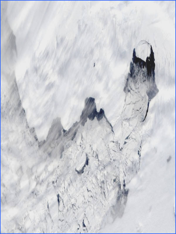 Antarctic ice shelves are melting dramatically study finds