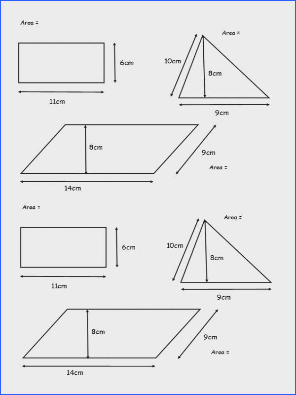 Area Triangles And Parallelograms Worksheet Worksheets for all Download and Worksheets