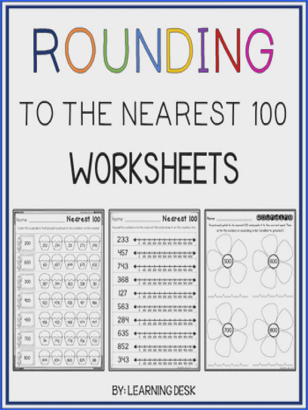 New Rounding Worksheets Best Rounding Worksheets To The Nearest 100 Ideas High Definition Wallpaper