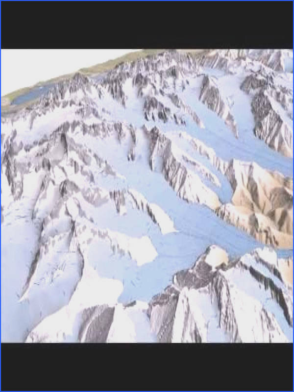 Białka Valley Glacier High Tatra Mountains during the Last Glacial Maximum Terragen Animation Geology and geomorphology Pinterest