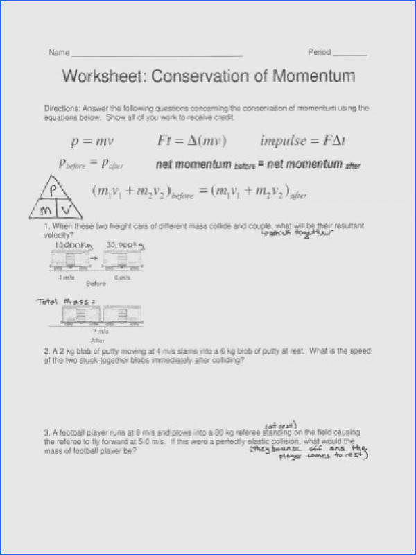 momentum and impulse worksheet homeoutsidethebox print impulse definition equation