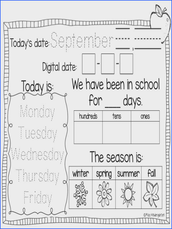Interactive Calendar Notebooks Keep all your students engaged