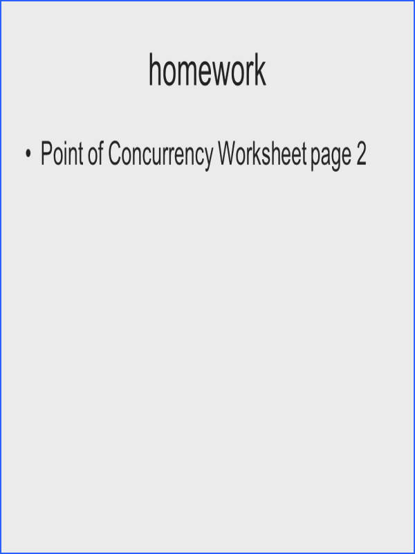 2 homework Point of Concurrency Worksheet page 2