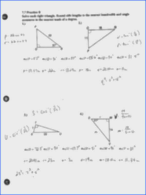 2 pages 7 7 Practice B Answers