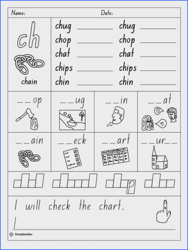 ch worksheets consonant digraph ch beginning sound english skills online ideas
