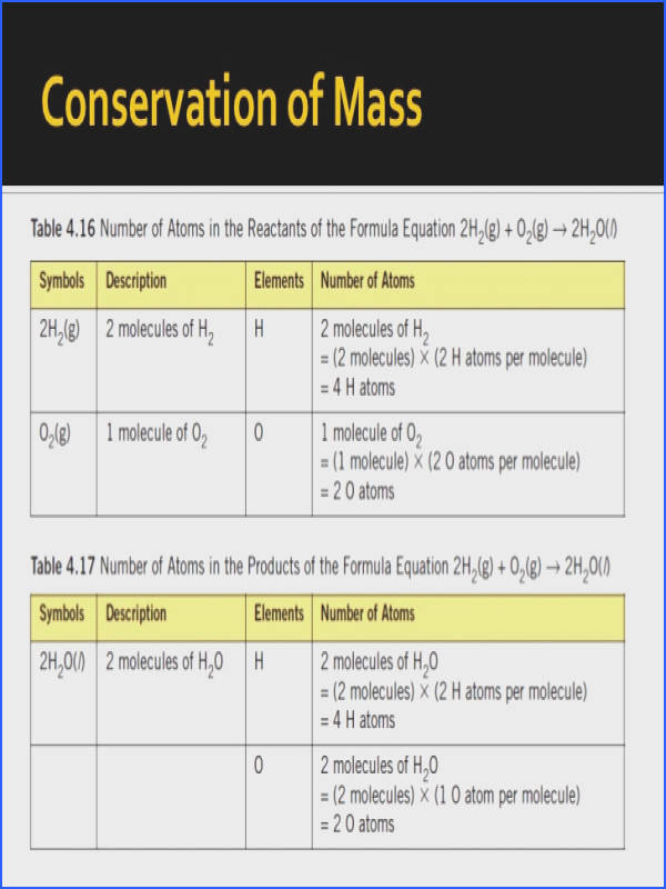 29 Conservation of Mass