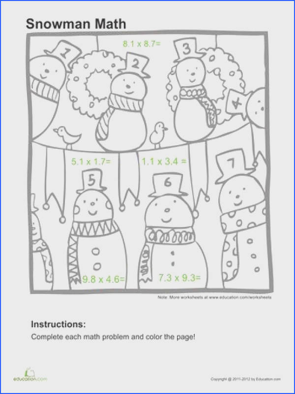 Christmas Adding And Subtracting Decimals Worksheet Worksheets for all Download and Worksheets