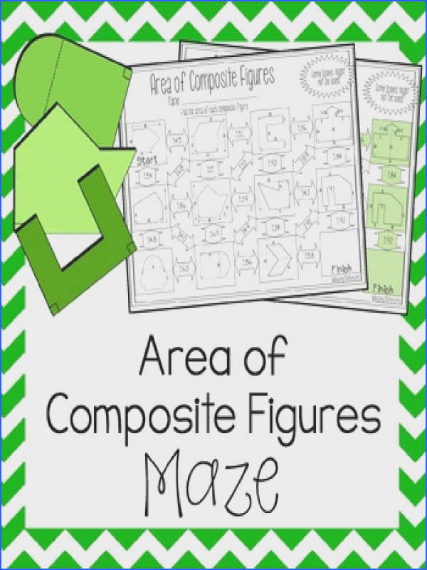 Area of posite Figures Worksheet Maze Area of posite Figures Worksheet Maze