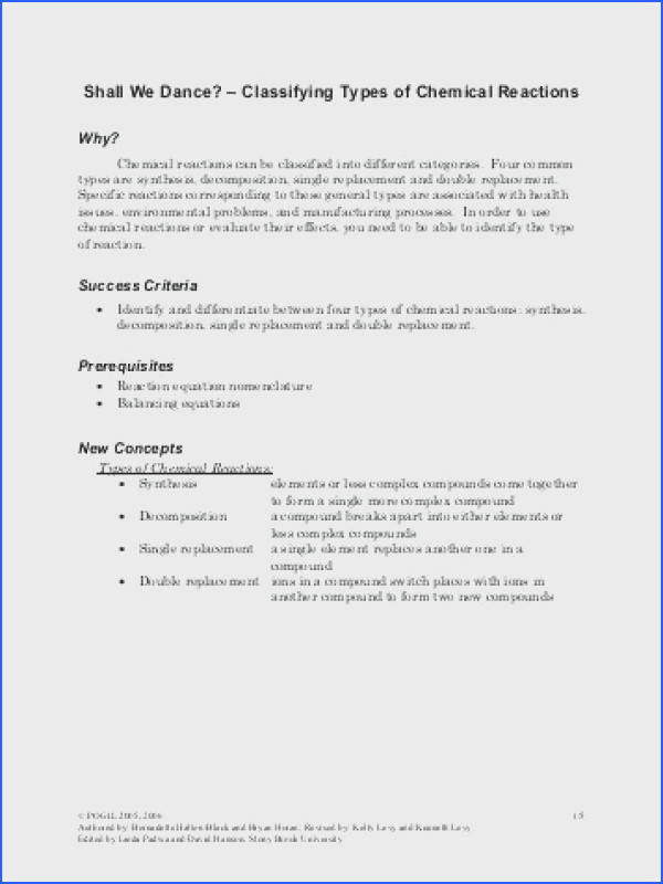 classifying chemical reactions worksheet answers as well as predicting products of chemical reactions worksheet solutions inspiring