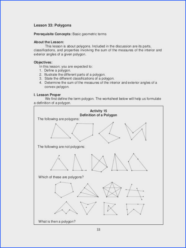 Creative Manificent Worksheet Triangle Sum And Exterior Angle Theorem Answers Interior And Exterior Angles Polygons Worksheet Doc