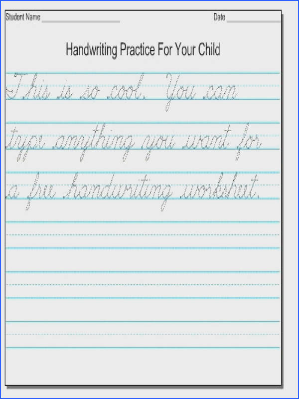 Cursive handwriting worksheets all exercises 2 worksheet kindergarten english