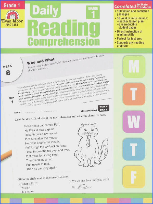 Daily Reading prehension Grade 1