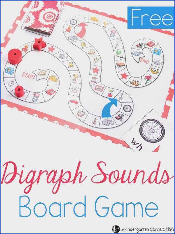 Digraphs Board Game