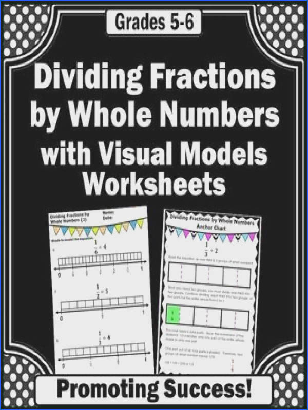 Dividing Unit Fractions by Whole Numbers with Visual Model