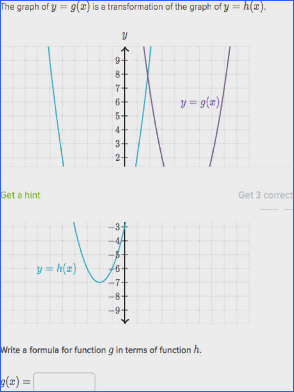 shift functions