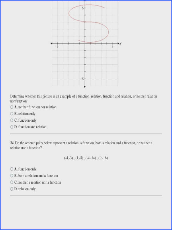 Domain and Range A Function Worksheet Lovely Relations and Functions Worksheet